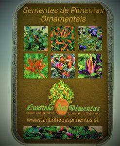 sementes ornamentais